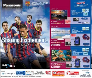 Panasonic TV Prices in Srilanka – June 2014