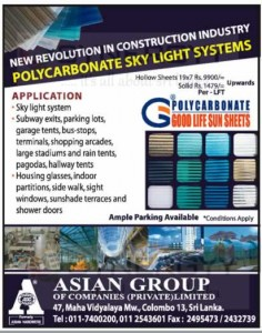 Polycarbonate Sky Light Systems for Rs. 1,479- per Lft
