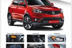 SSangYong New Korando with Petrol / Diesel Engine – Prices attached below