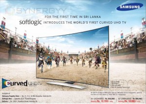 Samsung Curved UHD TV in Srilanka – Price Rs. 649,990.00 upwards
