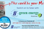 Solar Electricity in Colombo Srilanka – From Rs. 90,000/- onwards