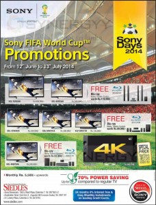 Sony TV Prices in Srilanka – JuneJuly 2014