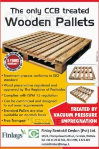 Wooden Pallets from Finlay Srilanka