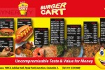 Burger Cart – Hyde Park Junction – Full Menu attached
