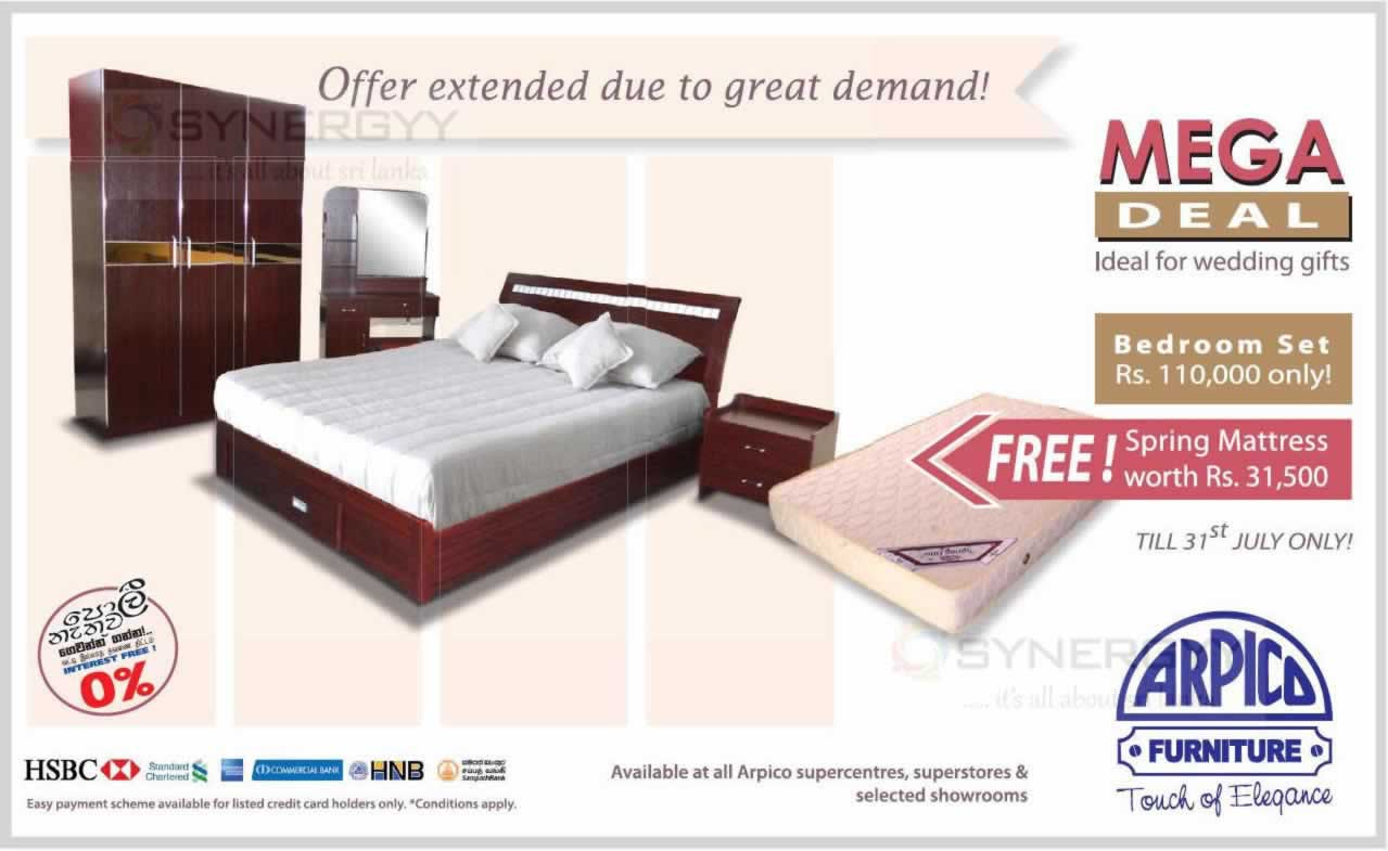 Furniture Prices And Discounts In Colombo Arpico Furniture Synergyy