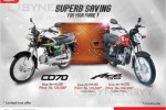 Honda CD70 and Honda Ace CB125 Special Promotion from Stafford Motors