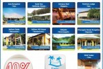 40% off for Commercial Bank Credit Cards at www.bungalows.lk