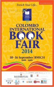 Colombo International Book Fair 2014 Open till 16th September 2014
