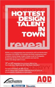 Reveal Show by AOD Student on 13th & 14th September 2014