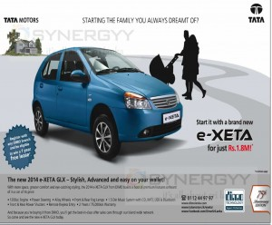 Tata e-XETA for Rs. 1,800,000.00 (1.8 Million or 18 Lakhs) in Sri Lanka