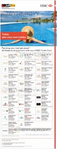 HSBC December 2014 Hotel Promotions – Updated