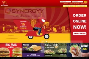 McDonalds Sri Lanka has started Home Delivery in Sri Lanka – visit www.mcdelivery.lk 1