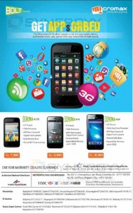 Micromax Bolt Mobile Prices in Sri Lanka – November 2014