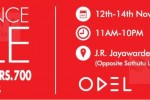 ODEL Clearance Sale – from 12th to 14th November 2014