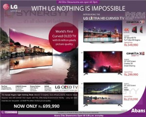 LG TV Promotion – December 2014