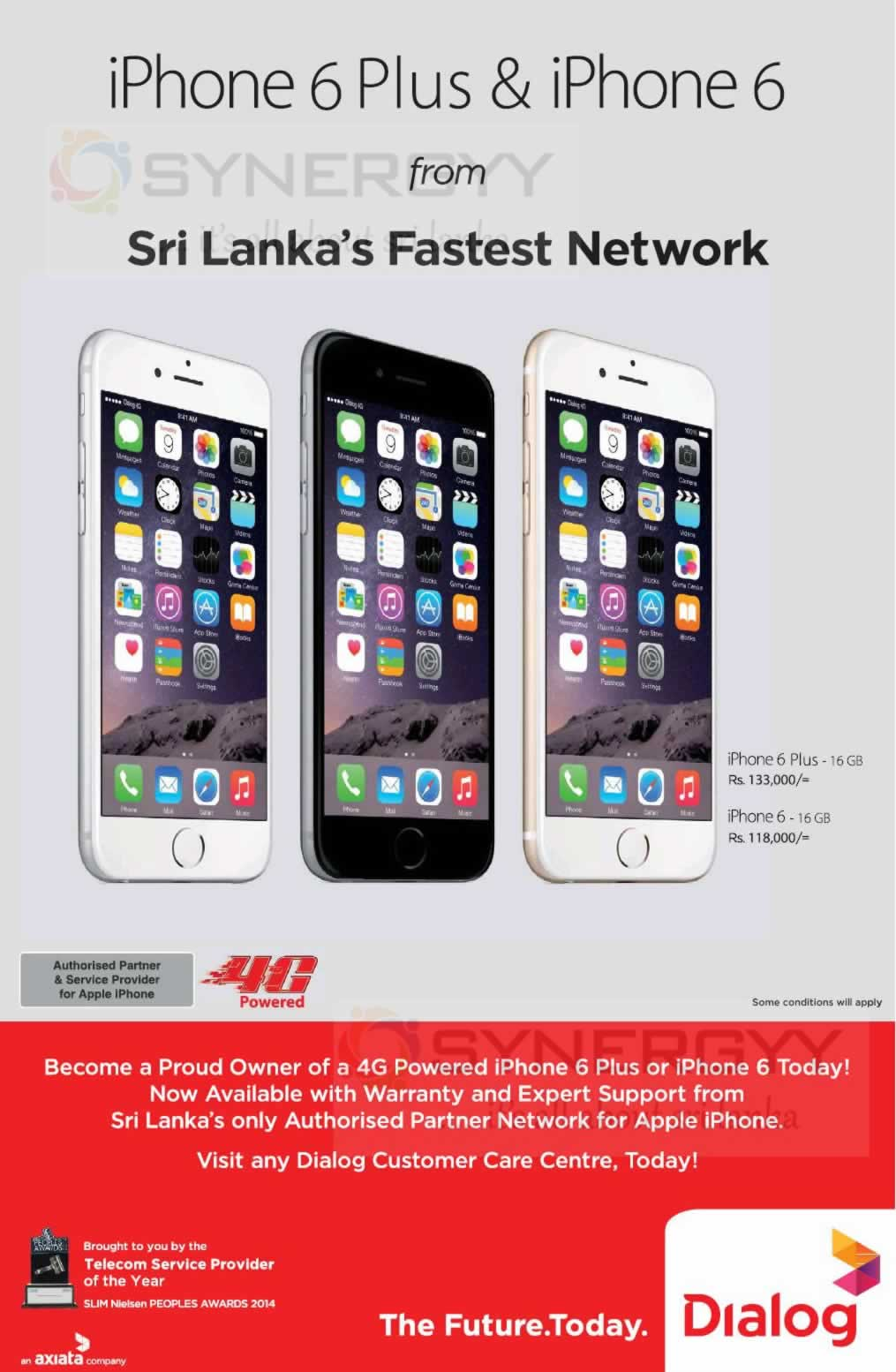 Apple iPhone 6 Prices and Promotions in Srilanka – SynergyY