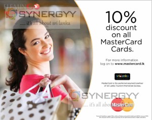 10% discount on all MasterCard Cards at Flemingo Duty Free Shop till 31st January 2015