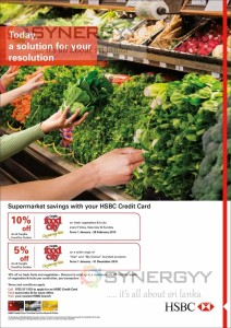 10% off at Cargills Foodcity for your HSBC Credit Card – till 28th February 2015