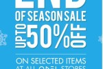 50% off at ODEL – end of seasonal sale until 21st January 2015