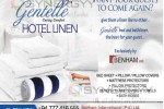 Gentelle caring comfort Bed & Bath Linen for Hotel or Home