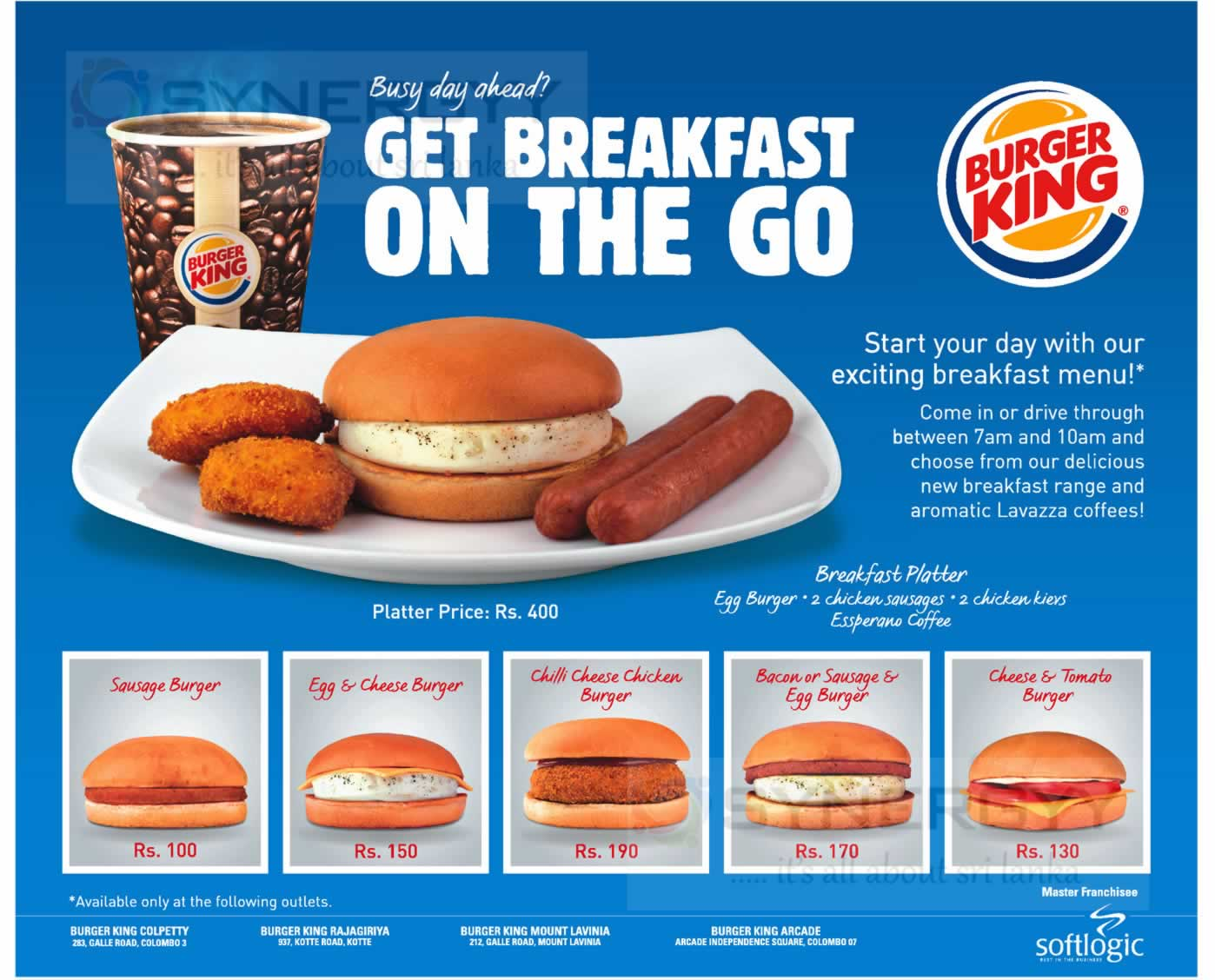 Burger Kings Breakfast Menu Update List 171 Synergyy