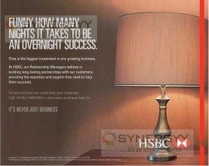 Business Advice and Loan from HSBC