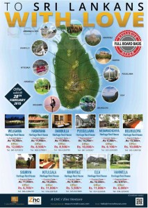 Ceylon Hotel Corporation Hotels Offers for Srilankan – Valid till 28th February 2015