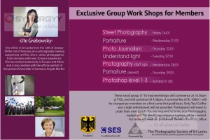Exclusive Group Work Shops for PSSL Members by Ute Grobowsky in Sri Lanka