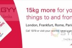 Extra 15Kgs allowance to & from Europe from Srilankan Airlines