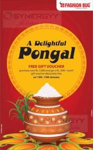 Fashion Bug Pongal Sale on 13th -14th January 2015