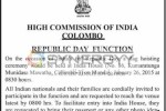 India's 66th Republic Day in Sri Lanka by High Commission of India – Colombo