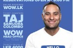 Russell Peters Again in Sri Lanka on 25th February 2015