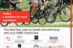 Save upto 25% on health and well-being with your HSBC Credit Card – February 2015