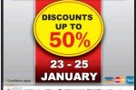 Singer Warehouse Clearance Sale – 23rd to 25th January 2015