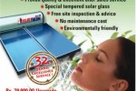 Solar water heating System in Sri Lanka for Rs. 79,000/- Upwards