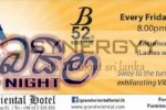 Baila Night on every Friday & Saturday at B52 Night Club, Grand Oriental Hotel