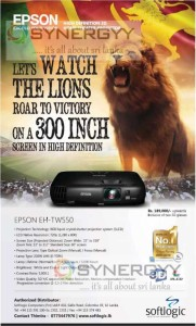 EPSON 300 Inch Projector for Rs. 189,000.00 Upwards