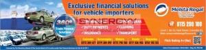 Finance for Vehicle Importers – Melsta Regal Finance Ltd