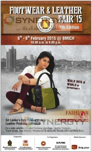 Footwear & Leather Fair 2015 – from 6th to 8th February 2015