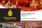 Sukhumvit Restaurant Sri Lankan Buffet Lunch for Rs. 250.00 upwards