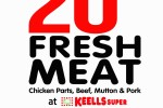 20% off on Fresh Meat at Keells supper for Seylan Bank Credit Card