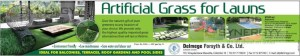 Artificial Grass for lawns in Sri Lanka – from Rs. 330- per Sq.Ft