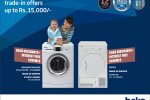Beko front loading washing machine & Dryer trade in Offer (Exchange Offer)