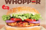 Burger King Chicken Whopper for Rs. 420/- Now
