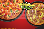 Buy Large Pizza and Get Medium Size Classic Pizza For Free till today