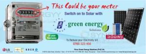 Green Energy Solution Solar power Generation