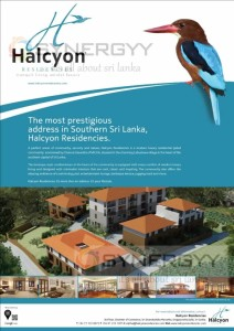 Halcyon Residencies in Labuduwa village in Southern Province.