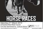 Nuwara Elia Horse Racing Festival 2015 – Starts on March 2015