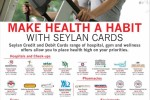 Seylan Bank Credit Card Promotion at Hospitals, Pharmacies, Gym, Health Equipements, Opticians and Spa – till December 2015