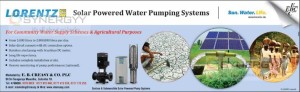 Solar Powered Water Pumping Systems for Rs. 250,000 Upwards